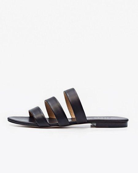 Nisolo Camilla Slide Sandal Noir
