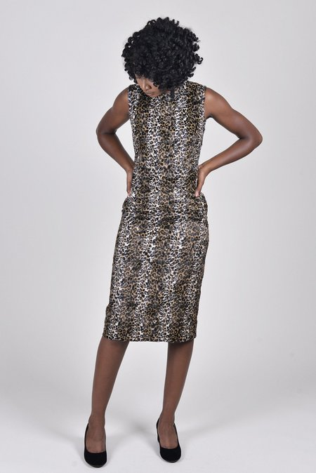 Rachel Comey Sling Dress - Cheetah