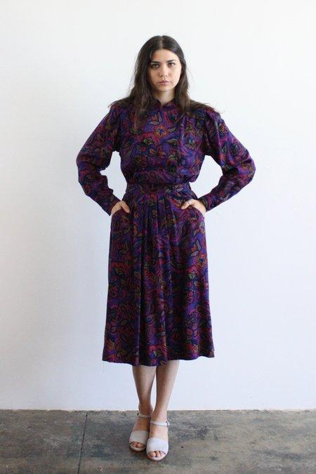 Myrtle Vintage Double Breasted Dress