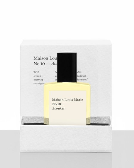 Maison Louis Marie No.10 Aboukir Perfume Oil