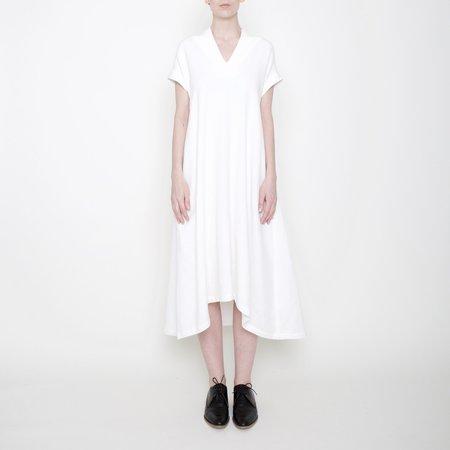 7115 by Szeki V-Neck Midi Dress - Off-White