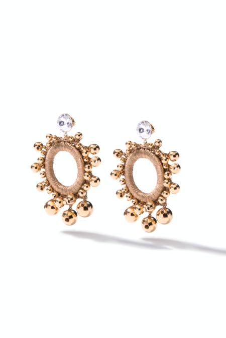 Venessa Arizaga Berry Sweet Earrings - Gold