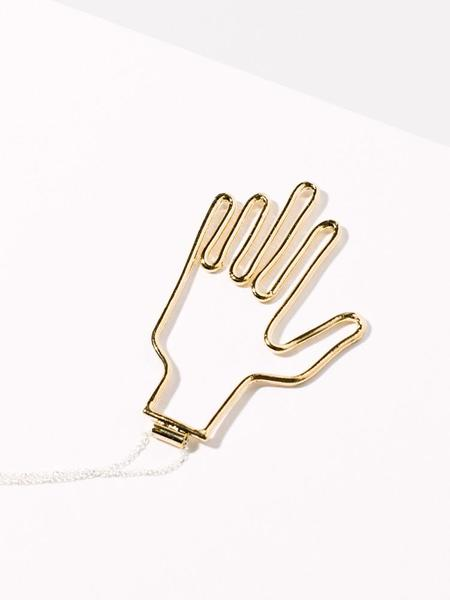 Young Frankk Hand Necklace