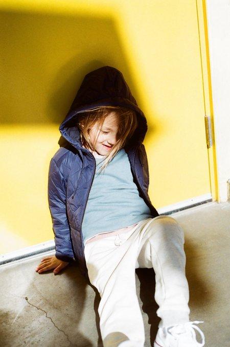 Kids Boy+Girl Crew Pullover - Azure