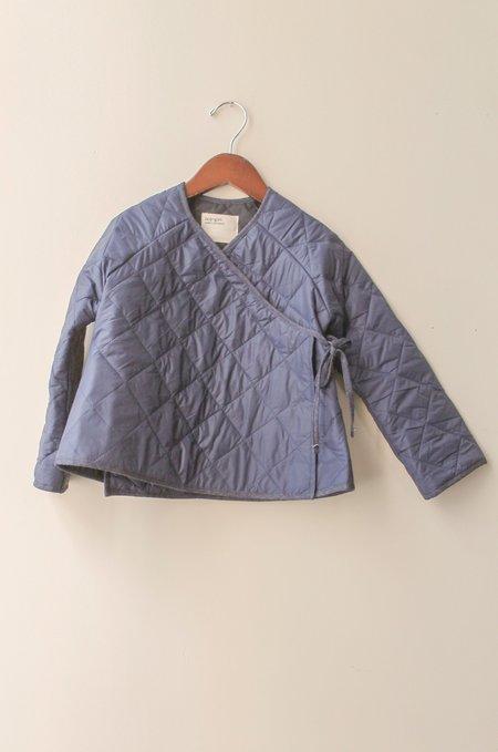 Kid's Boy+Girl Kimono Jacket in Navy Puff