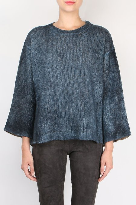 Avant Toi Two-Tone Knit