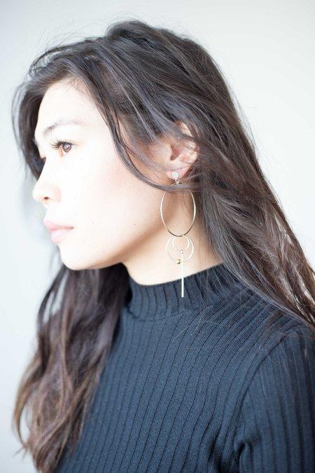 Nepheliad Asymmetrical Earrings