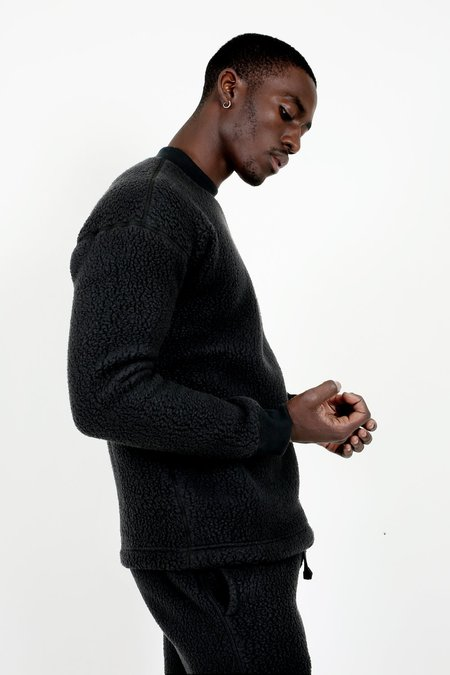 wings + horns Polartec Shearling Crewneck