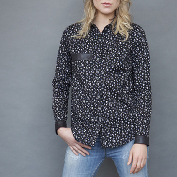 Grob Flower of the Night Blouse