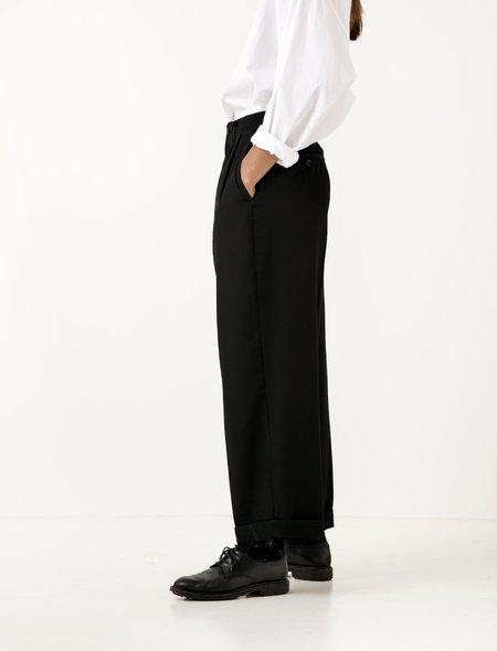 Ys by Yohji Yamamoto Womens Wide Straight Pants