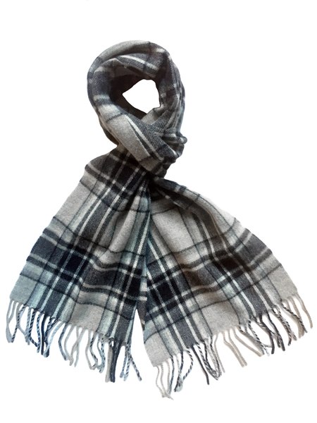 David Hart Grey Gent Scarf