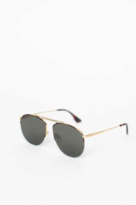 Le Specs Liberation Sunglasses - Gold Tortoise