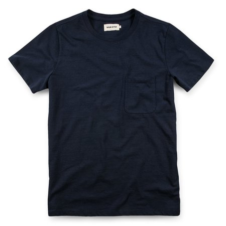 Taylor Stitch The Heavy Bag Tee in Navy