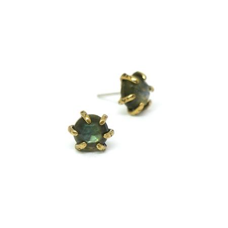Laurel Hill Jewelry Io Studs - Labradorite