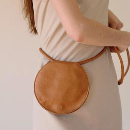 ARE Studio Disc Pouch - Onyx / Dust / Coffee / Ginger