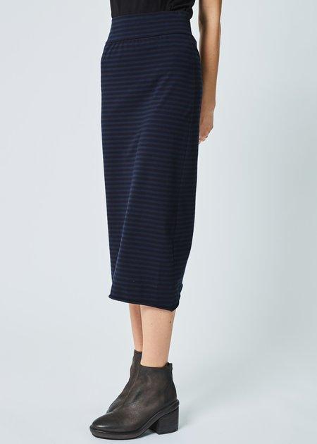 Labo.Art Penna Striped Jersey Skirt - Atlantic