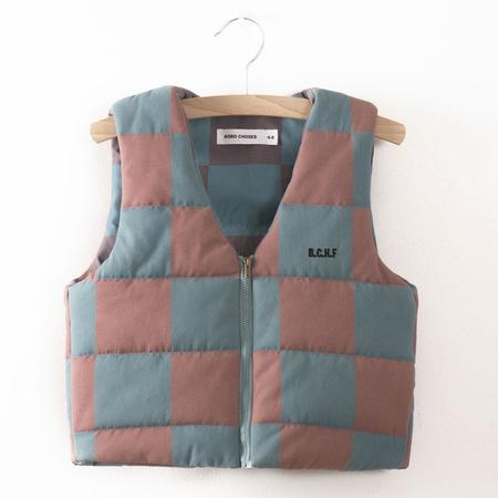 Kid's Bobo Choses Quilted Waistcoat