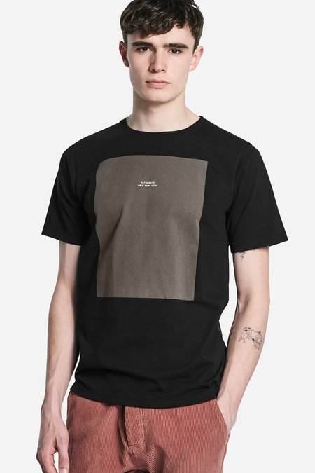 Saturdays Surf NYC Logo Rectangle S/S Tee - Black