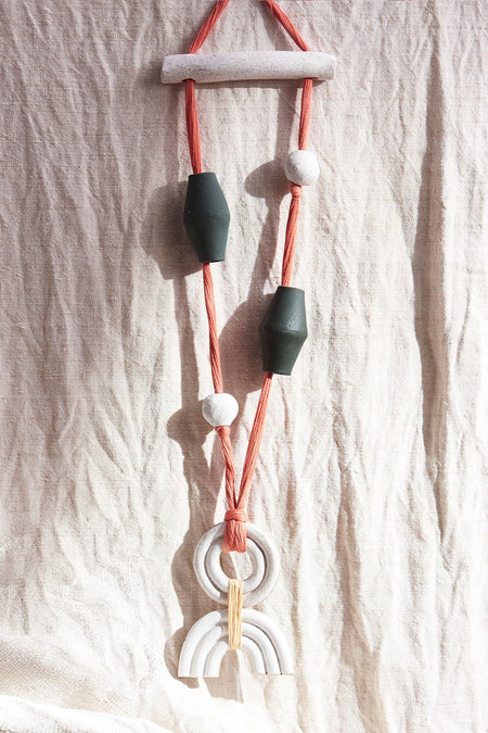 Gamma Folk Iro Wall Necklace