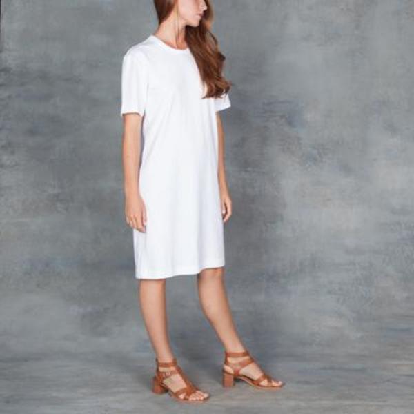 Organic by John Patrick T-Shirt Dress White