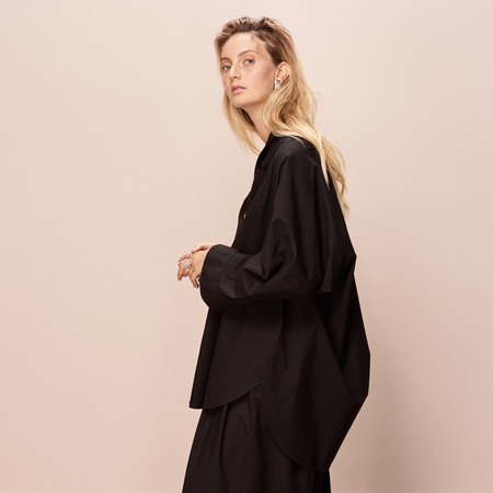 Kowtow Just Love Shirt - Black