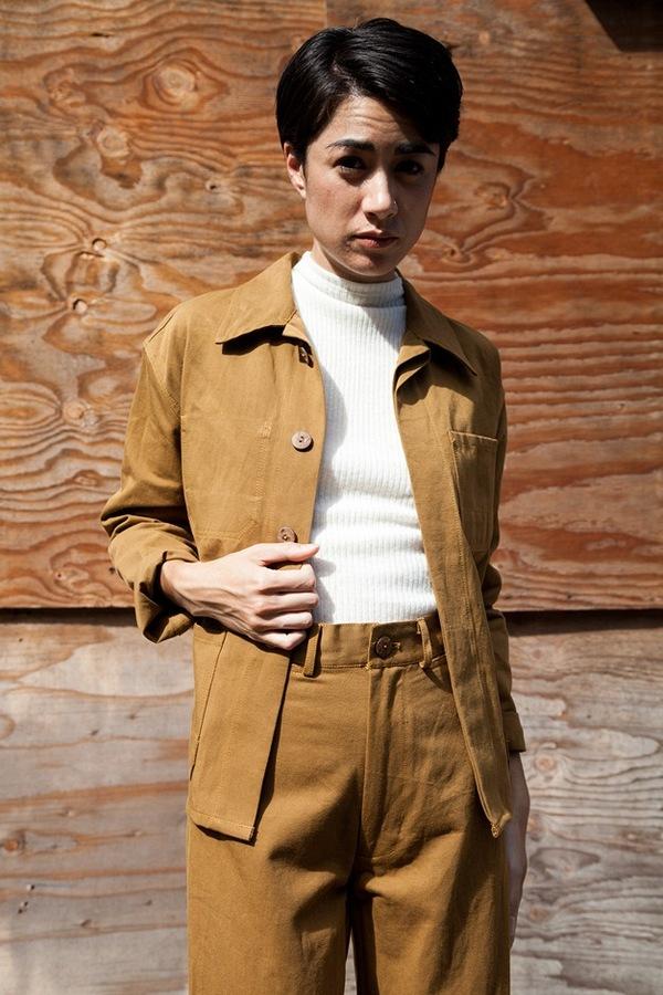 Caron Callahan Pollack Jacket | cotton/linen twill