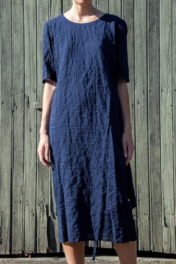 Caron Callahan Apron Dress | gingham