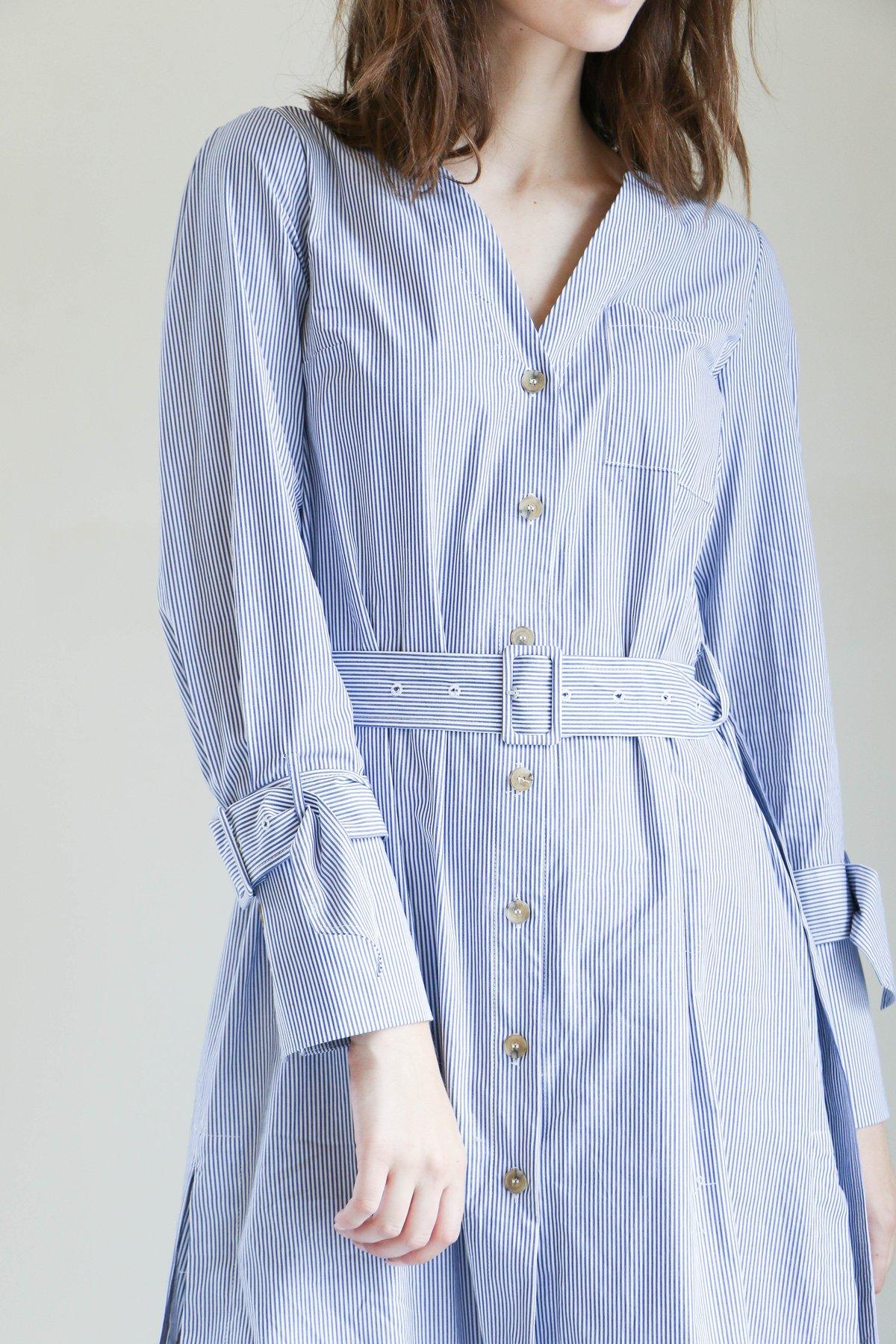 Sea diagonal placket dress Buy Cheap Enjoy Cheapest Price Cheap Price Buy Cheap Perfect For Nice For Sale Outlet Footlocker RPXzec