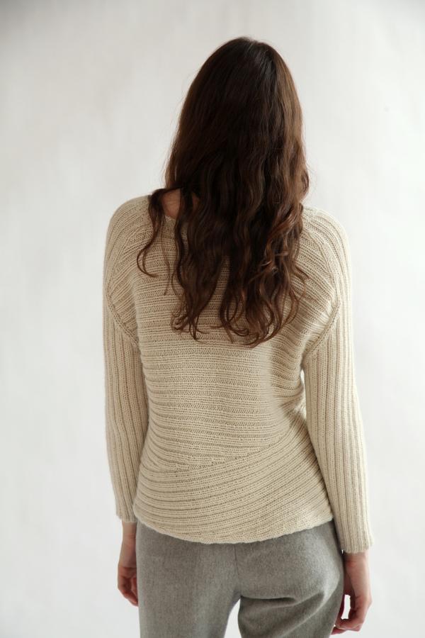 Kordal Carolina Sweater | Bone