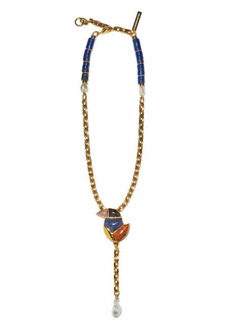 Lizzie Fortunato Songbird Chain Lariat