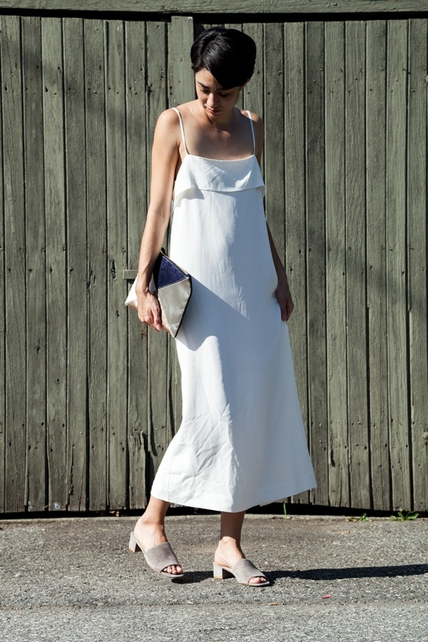Apiece Apart Luna Slip Dress