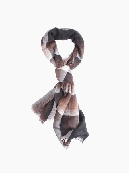 Oliver Spencer Carrock Scarf Brown
