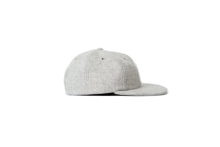Norse Projects NORSE WOOL CAP - GREY MELANGE