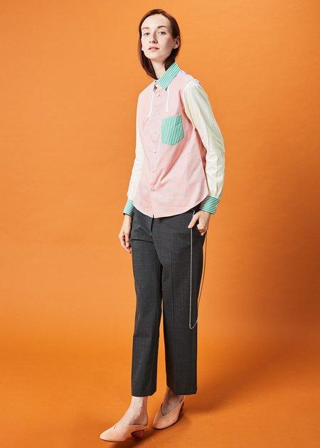 Shiro Sakai Rainbow Sherbet Button-Up Shirt