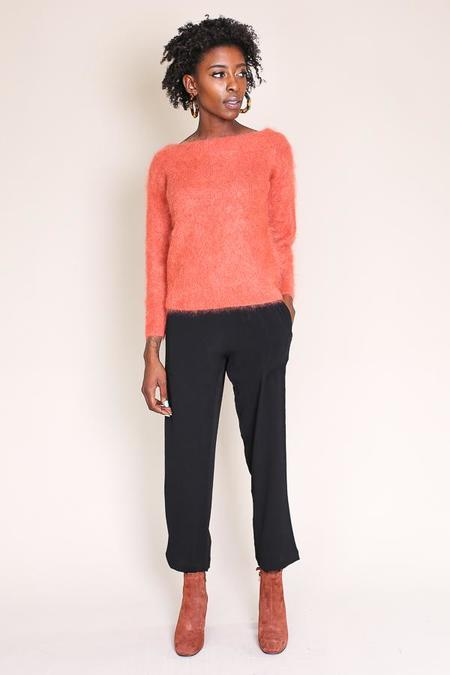 Tanya Taylor Finley Sweater in Terracotta
