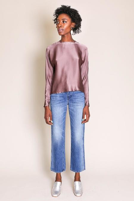 Where Mountains Meet Naia Blouse in Mauve