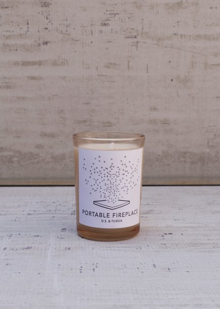 D.S. & Durga Portable Fireplace Scented Candle