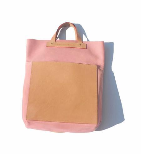 Julia Gabriel Studio Pink Foldover Bag
