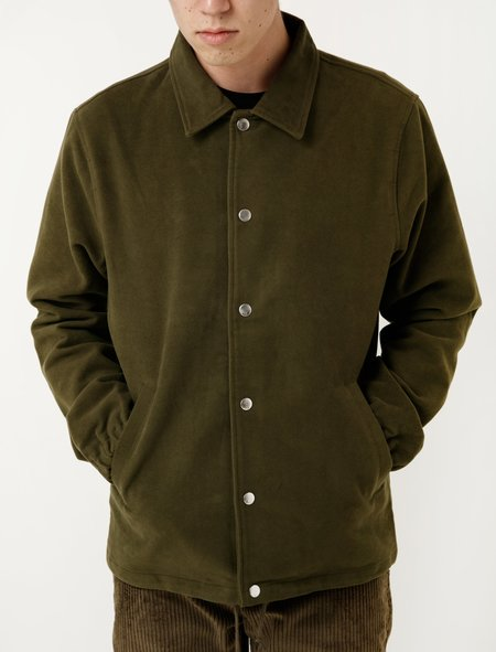 Tres Bien Coach's Jacket - Moleskin Olive