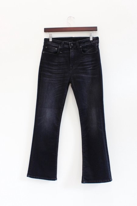 R13 Denim Kick Flare