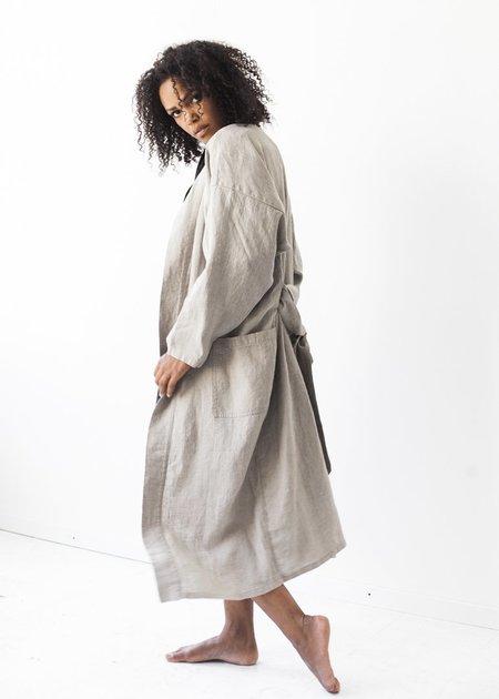 Le Fil Rouge Linen Kimono Style Coat