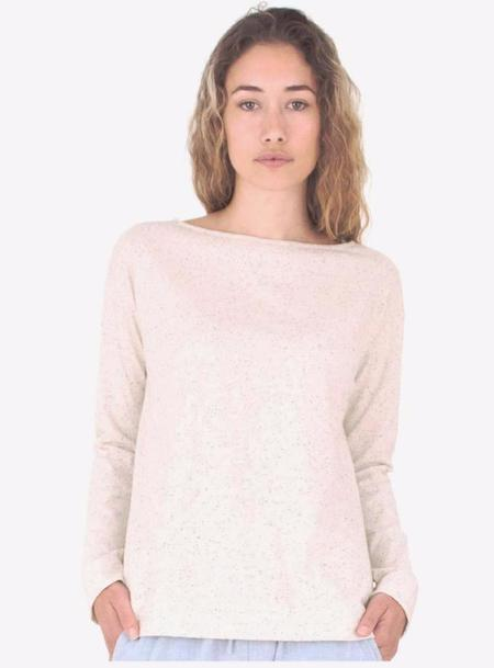 Mollusk Long Sleeve Boat Neck Tee - Natural
