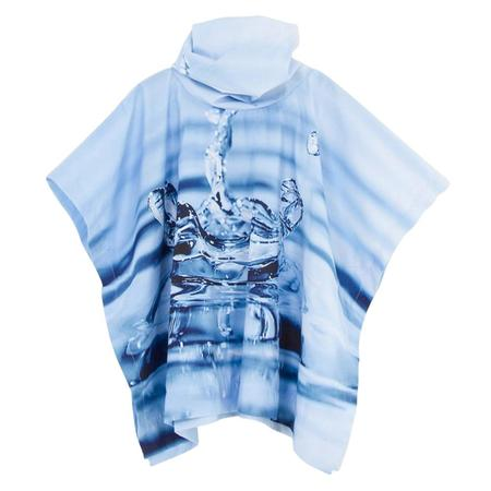 Kid's Slow and Steady Wins the Race Poncho - Rain Drop