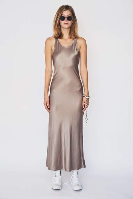 Baserange Satin Silk Domond Dress