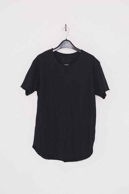 Assembly New York Terry Textured T-Shirt - Black