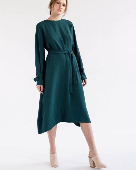Luisa Et La Luna Anya Dress in Dark Green