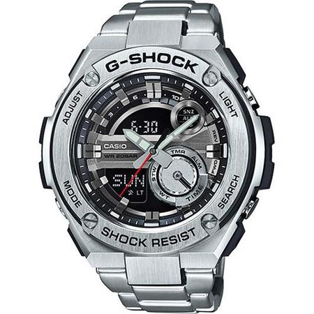 G-SHOCK GST210D-1A MASTER OF G - SILVER