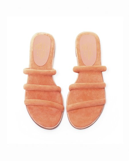 Charlotte Stone Bruna Sandals in Terracotta