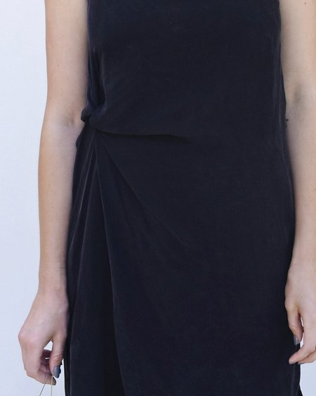 Objects Without Meaning Twist Dress in Black