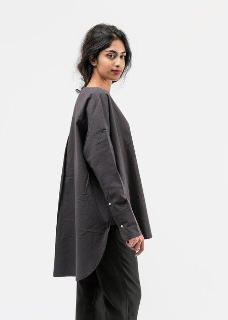 Priory Washed Black Selt Tunic